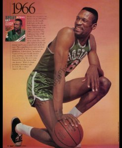Bill Russell SPORT magazine, January 2000