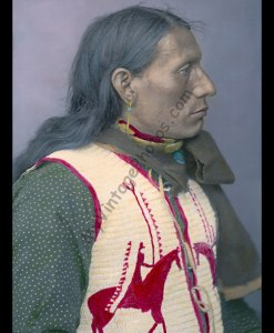 Charges Twice, Dakota Brule Native American Indian 1904