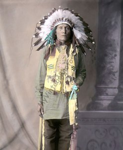 Dakota Rosebud Native American Indian, US Indian School, St. Louis Missouri 1904