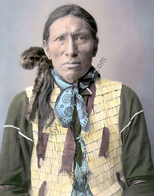 Dakota Rosebud Native American Indian, US Indian School Saint Louis Missouri 1904