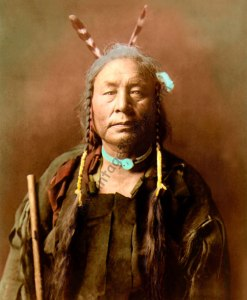 Eagle Child, Atsina Native American Indian 1908