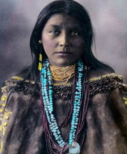 Hattie Tom, Chiricahua Apache Native American Indian 1899