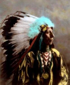Jack Red Cloud, Oglala Lakota Sioux Native American Indian 1904