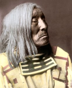 Lone Tree, Apsaroke Crow Native American Indian 1908