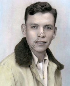Joe Morris Sr., Navajo Code Talker WWII Native American Indian