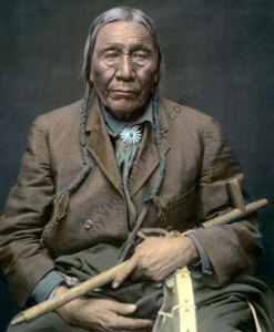 Nawat, aka Left Hand Cheyenne Native American Indian 1924