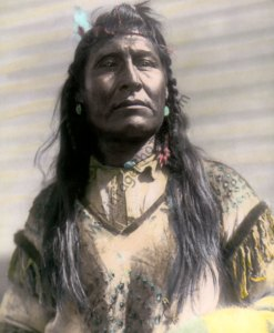 New Chest, Piegan Blackfeet Native American Indian 1899
