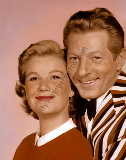 Barbara Bel Geddes & Danny Kaye, The Five Pennies 1959