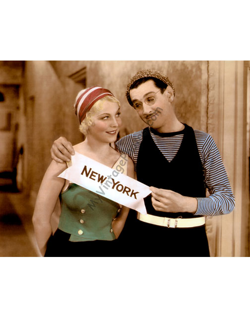 Charley Chase & Muriel Evans, Young Ironsides 1932
