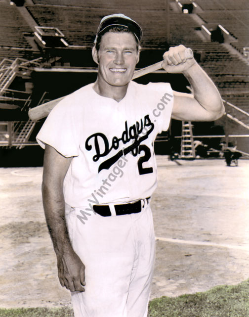 Chuck Connors, Brooklyn Dodgers 1958