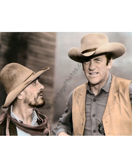 Ken Curtis & James Arness, Gunsmoke 1950s