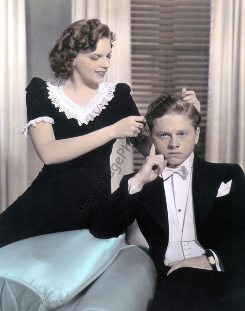 Judy Garland & Mickey Rooney, Andy Hardy Meets Debutante 1940