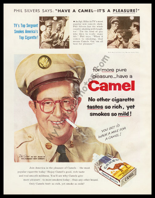 Phil Silvers, August 1956