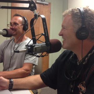 Jim & Jeff professional auctioneers talking on the radio