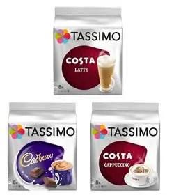 costa coffee tassimo t-disc