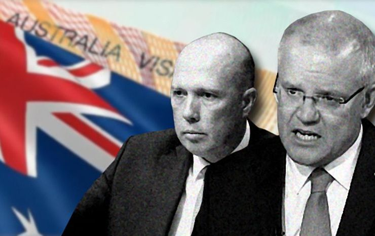 Coalition loses control of visa system