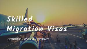 Condition 8504 – Must enter Australia before specified date