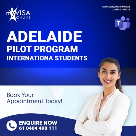 Pilot Program For International Students In Adelaide