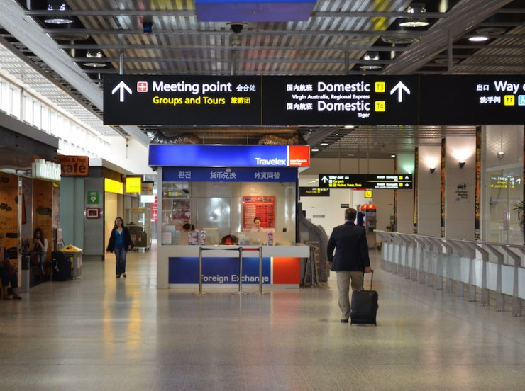 Travel restriction exemption for travellers to and from Australia