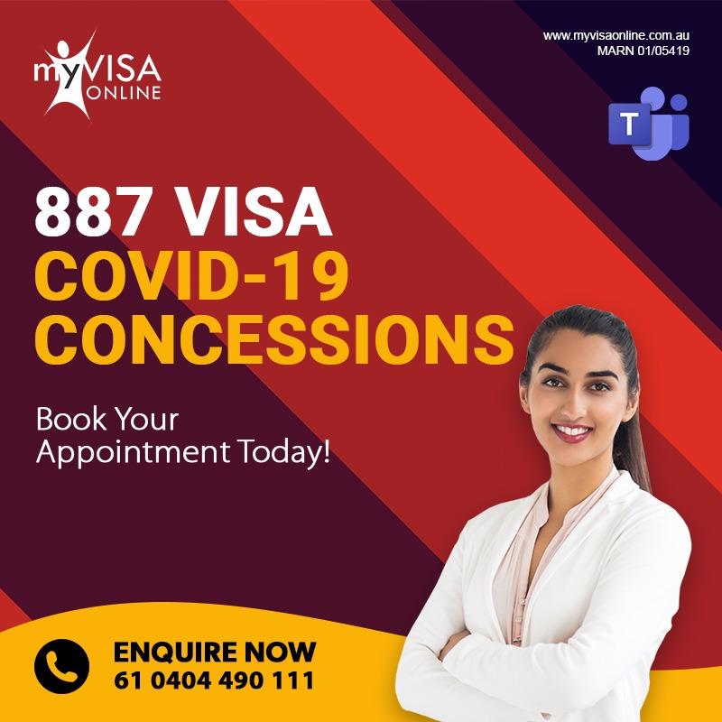 COVID-19 (Coronavirus) concessions to assist prospective Skilled – Regional (subclass 887) visa applicants