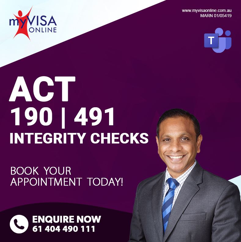 ACT 190   491 Integrity Checks