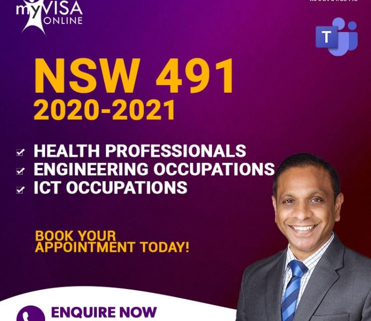 491 NSW Occupation List 2020-2021