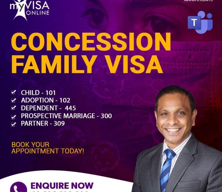 Concession Family Visa