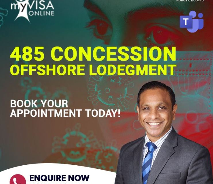COVID- 19 485 Concession Offshore Lodgement