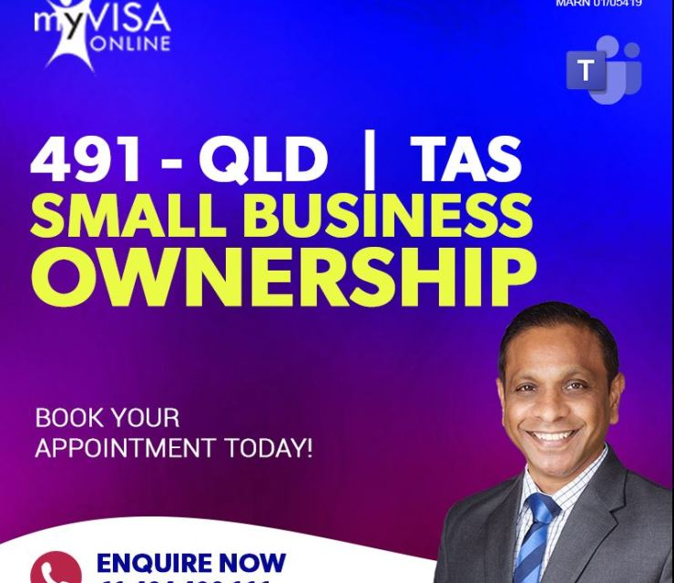 491 QLD | TAS Small Business Ownership