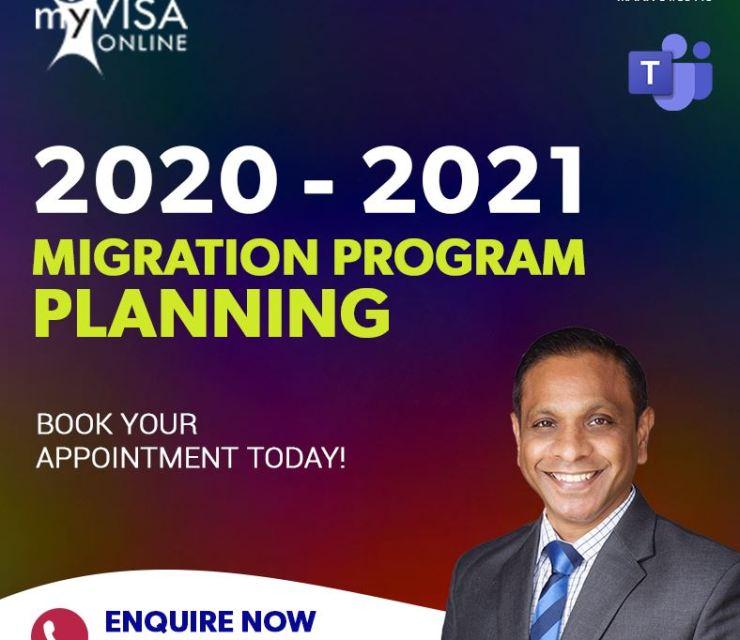 2020-21 Migration Program Planning