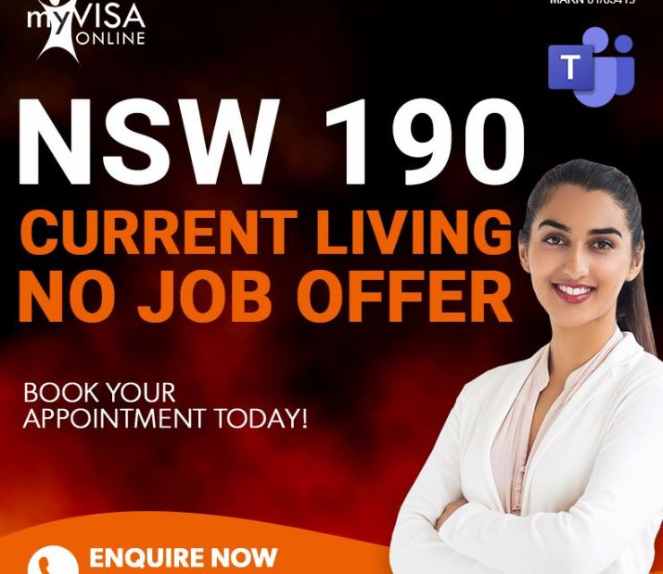 NSW 190 Current Living No Job Offer