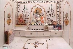 pooja temple vastu interior rooms god mandir door puja painting cupboard interiors shastra तर professional living तस provide उत कमर