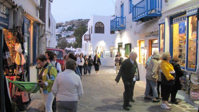 Street view in Samos