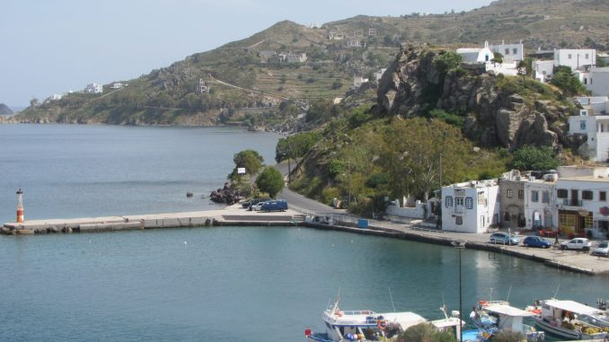 The harbour at Patmos