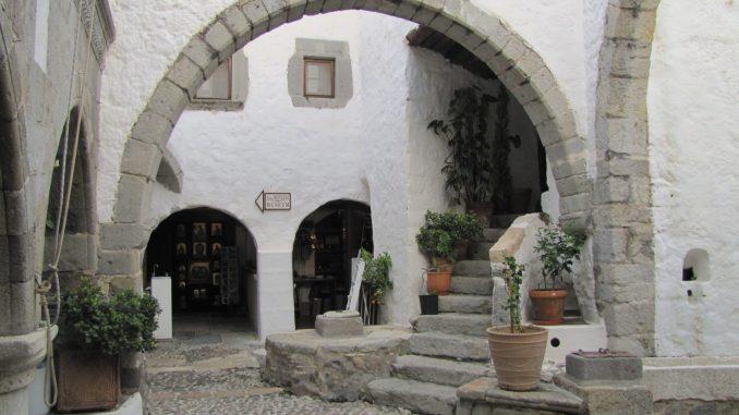 Courtyard in Patmos