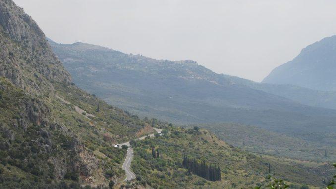 In Delphi Greece