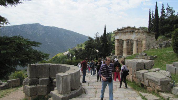 More ruins at Delphi