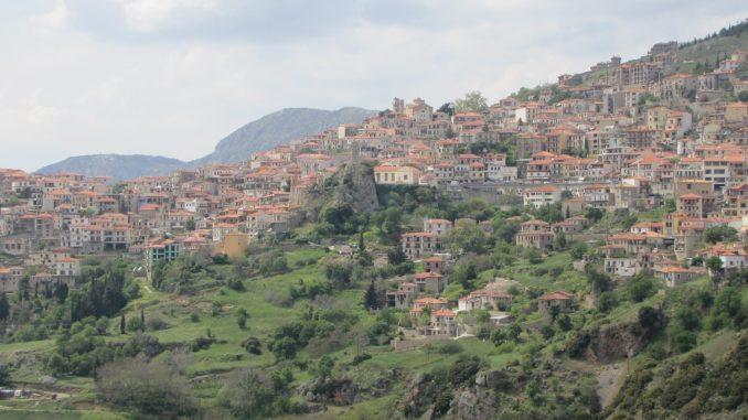 Country side near Delphi Greece