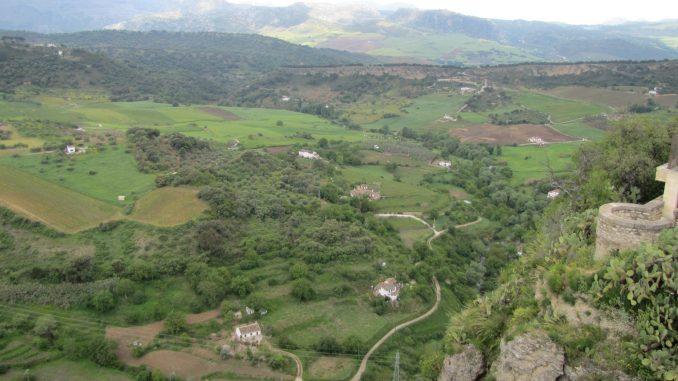 The country side near Rhonda Spain
