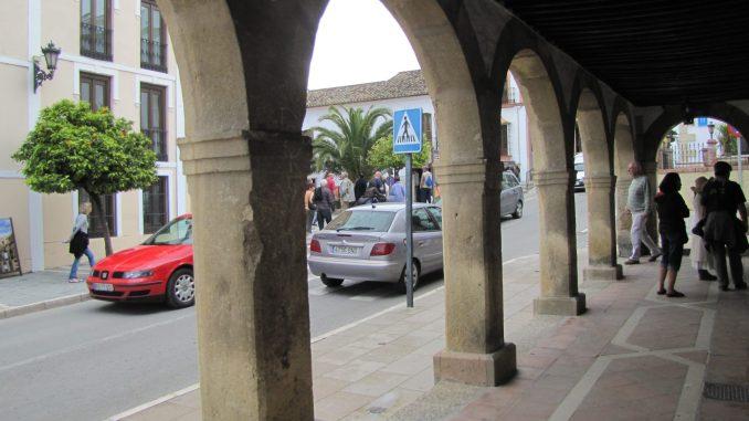Sidewalk in Rhonda Spain