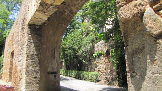 Near the Alhambra in Granada Spain