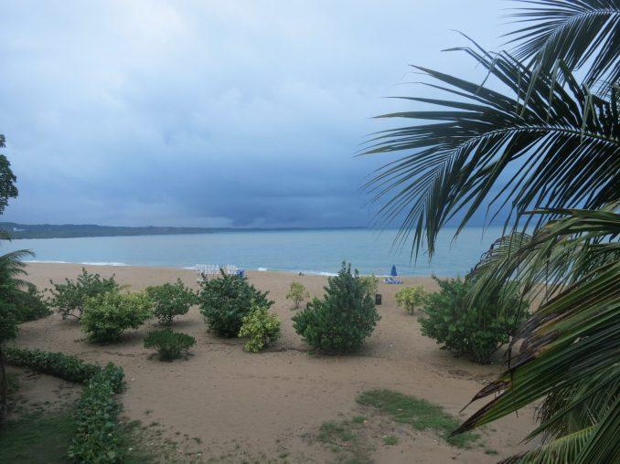 Storm brewing at Alicia beach Sosua