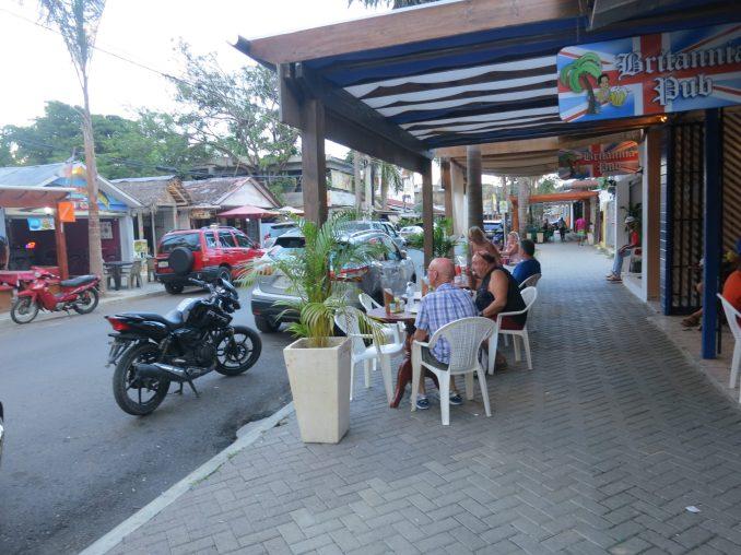 Street view in Sosua Dominican Republic
