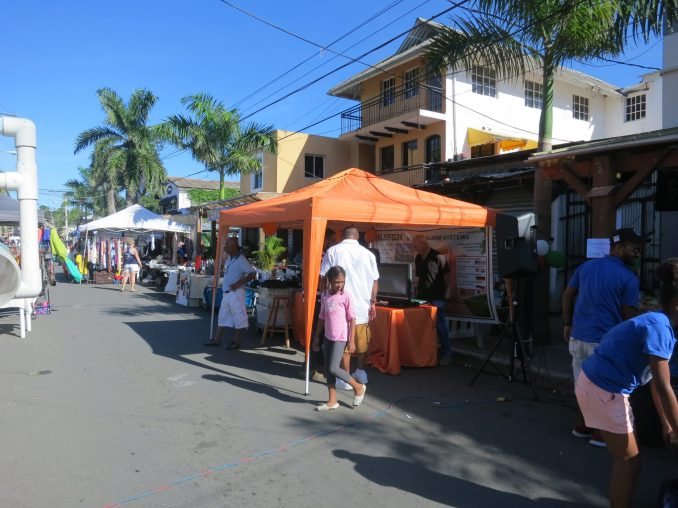 Street scene in Sosua