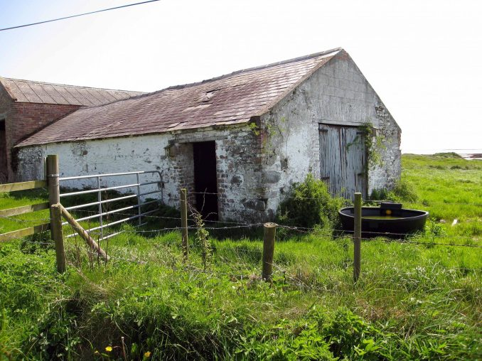 Irish barn near Portaferry