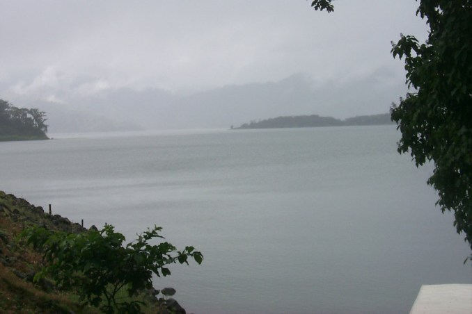 Arenal Lake in Costa Rica
