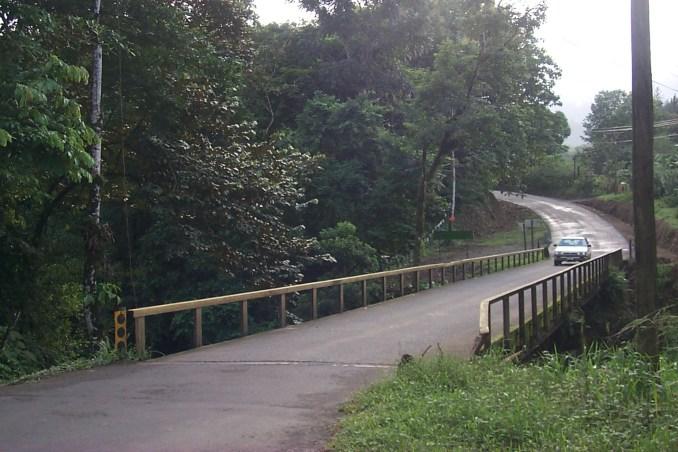Scenic drive near Fortuna