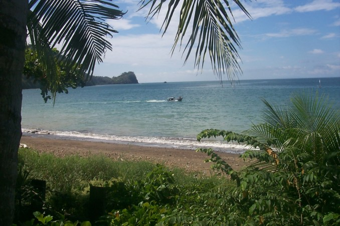 The beach near Jaco Costa Rica