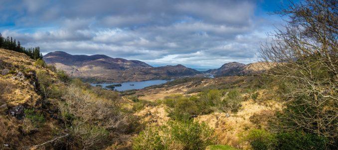 Panorama of Killarney National Park