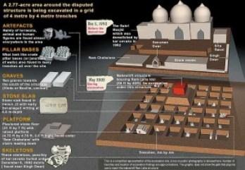 Ayodhya Excavation Graphic